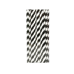 195mm Paper Drinking Straw