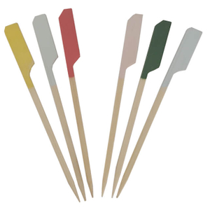 120mm Color Paddle Skewer
