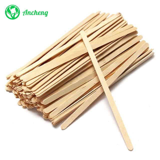 "5.5"" Birch Wood Coffee Stirrer Sticks"