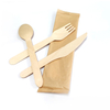 Eco Friendly Disposable Biodegradable Wooden Cutlery Set
