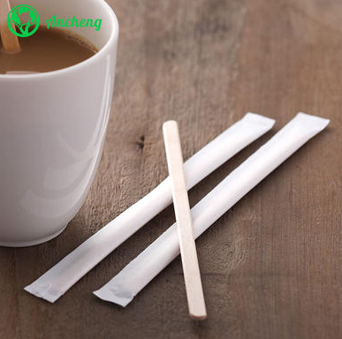 What are the characteristics of wooden coffee stirrer?