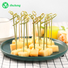 Decorative Bamboo Knotted Skewers Cocktail Picks