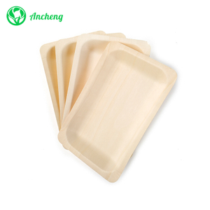 Bio Wooden Disposable Plates for Party